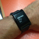 Iwatch, pebble